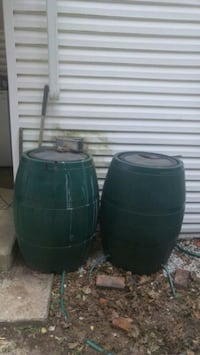 Large green rain barrels Woodlawn, 21207