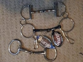 WEAVER LEATHER SNAFFLE BITS NEW WITH TAGS