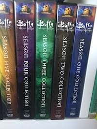 5 olika Buffy the Vampire slayer DVD-fodral Gothenburg, 416 71