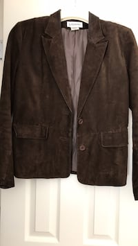 brown suede jacket Coram, 11727