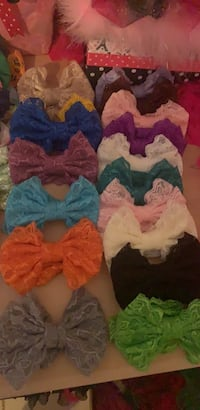 5 inch head band bows 16 different color bows Edinburg, 78541
