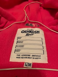 OshKosh snow suit Winnipeg, R2M 4C9