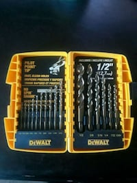 Dewalt drill bits set Whittier, 90604
