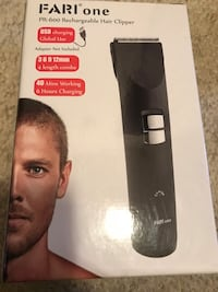 Cordless hair clipper (with 4 length combs/rechargeable)great gift