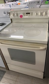 GE glass top stove in good condition