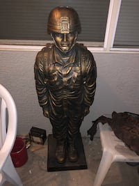 US Army Soldier Sculpture  Las Vegas, 89121