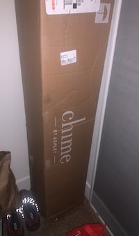 Design by Ashley 8 Inch Chime Express Hybrid InnerspringBed in a Box