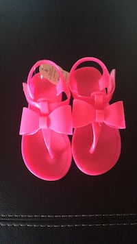 pair of pink-and-yellow sandals San Dimas, 91773