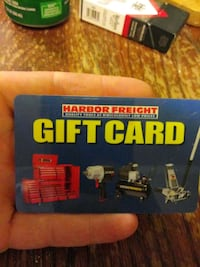 Harbor Freight gift card $96.13
