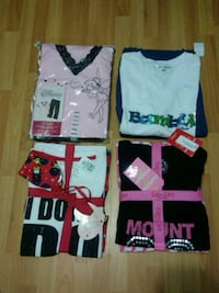 Pajama Sets Size M & L - New - $5 each Surrey, V3R