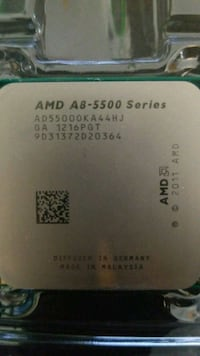 AMD A8 - 5500 Series CPU socket FM2 Vancouver, V5R 3G3
