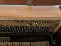 Willis & Company piano Oakville, L6H 2V4