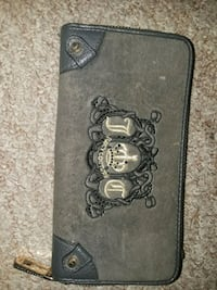 black and gray leather wallet Sacramento, 95824