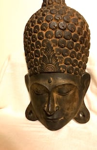 ART - Large Meditative Buddha from Indonesia (20H x 11W) Ansonia, 06401
