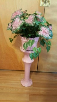 Solid Tall Ceramic Vase Floral Flowers Arrangement