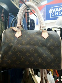 black Louis Vuitton leather tote bag Montreal, H3N 2R6