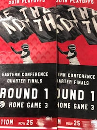black and white home game 3 tickets Toronto, M8V 1H7