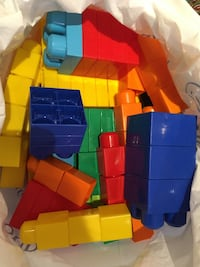 Mega bloks- all colours and shapes over 80 pieces  Vaughan, L6A 2K6