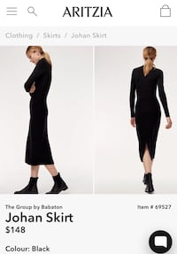 Aritzia The group by babaton skirt  3741 km