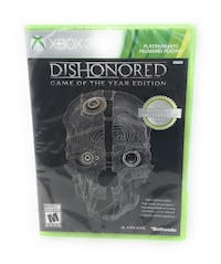 Dishonored - Game of the year edition XBOX Calgary