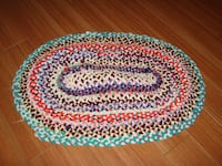 "(NEW) Homemade Braided Rugs ~35"" x 22"" Kitchener, ON, Canada"