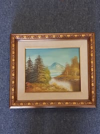 "Landscape Oil Painting Gold Frame 15"" x 13 Art  Mississauga, L4X 1S2"
