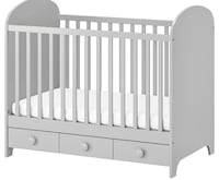 Beautiful new gray crib/toddler bed. Silver Spring, 20910