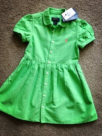Brand new Ralph Lauren toddler dress 4t  Alexandria, 22304