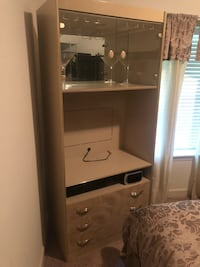 TV stand with 3 dresser drawer and wine glass rack Stafford, 22554