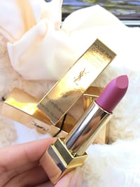 Pink Yves Saint Laurent lipstick with box