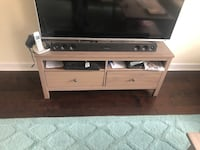 TV stand, solid wood Louisa, 23093