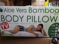 Bamboo body pillow new in the box  315 mi