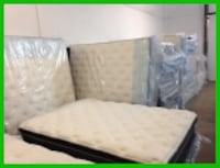 Queen Size Bed Set Hickory