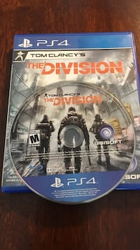 PS4 Tom Clancy's The Division game Greater Napanee, K7R 2M5
