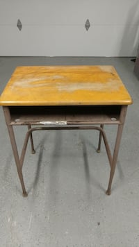 """Old school desk.  Top size 18"""" x 24"""" also 29"""" high."""
