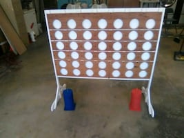 Jumbo Connect 4 Wood Game