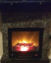 electric fireplace mantle heater 25x300