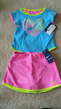 New with tags Nike skort set size 3T Gaithersburg, 20878