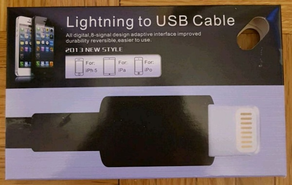 Apple - Lightning to USB Cable - Black