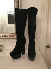 Halston by Sarah Jessica Parker knee high boots