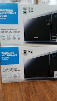 Samsung microwave new in box 1.4 cuft  90days labour and part warranty Toronto, M1W 2N2