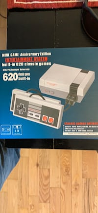 620 classic games entertainment system