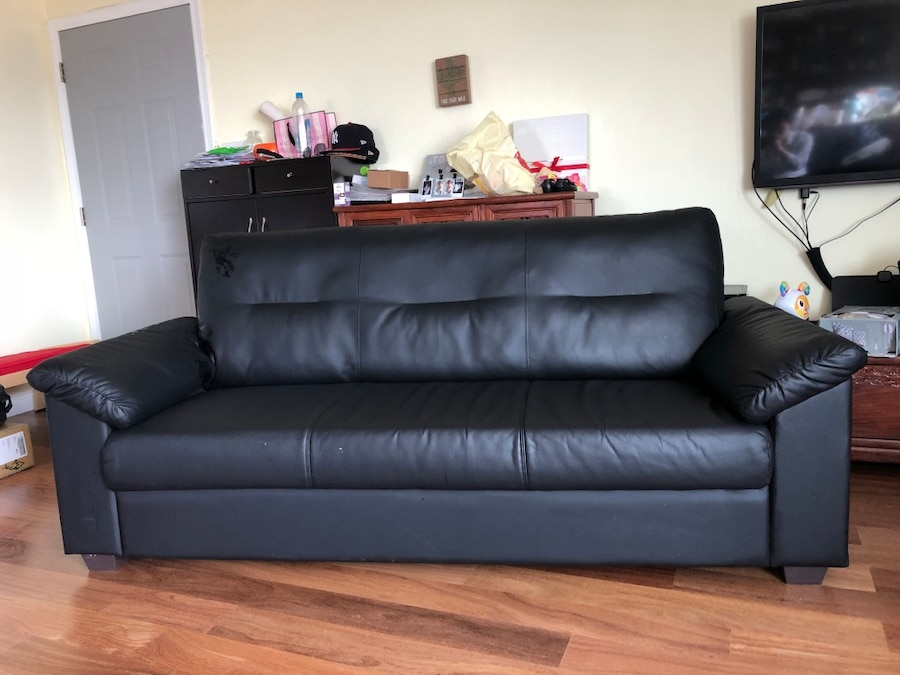 Ikea Knislinge Sofa, Idhult Black Pictures