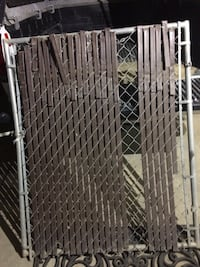 "Chain link Gate , 54"" Tall, Privacy slats Bakersfield"
