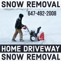 Snow removal 180)month 25)visit London