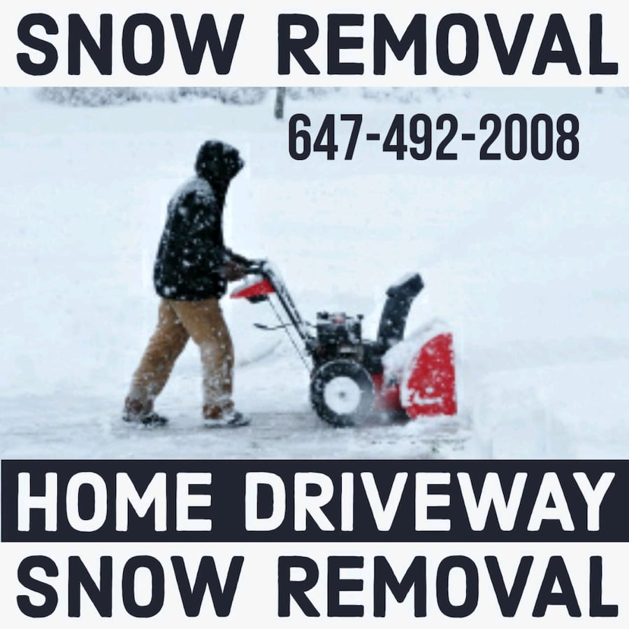 Snow removal 180)month 25)visit