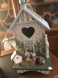 Country Cat lovers Bird House-