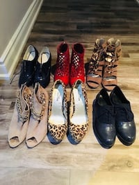 women's assorted pairs of shoes Mississauga, L5W 1S9