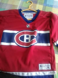 red and blue NHL jersey shirt Terrebonne, J6Y 1G8