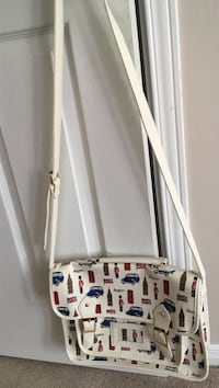 white,red,and blue multi-colored leather hobo bag Brampton, L6X 3E7